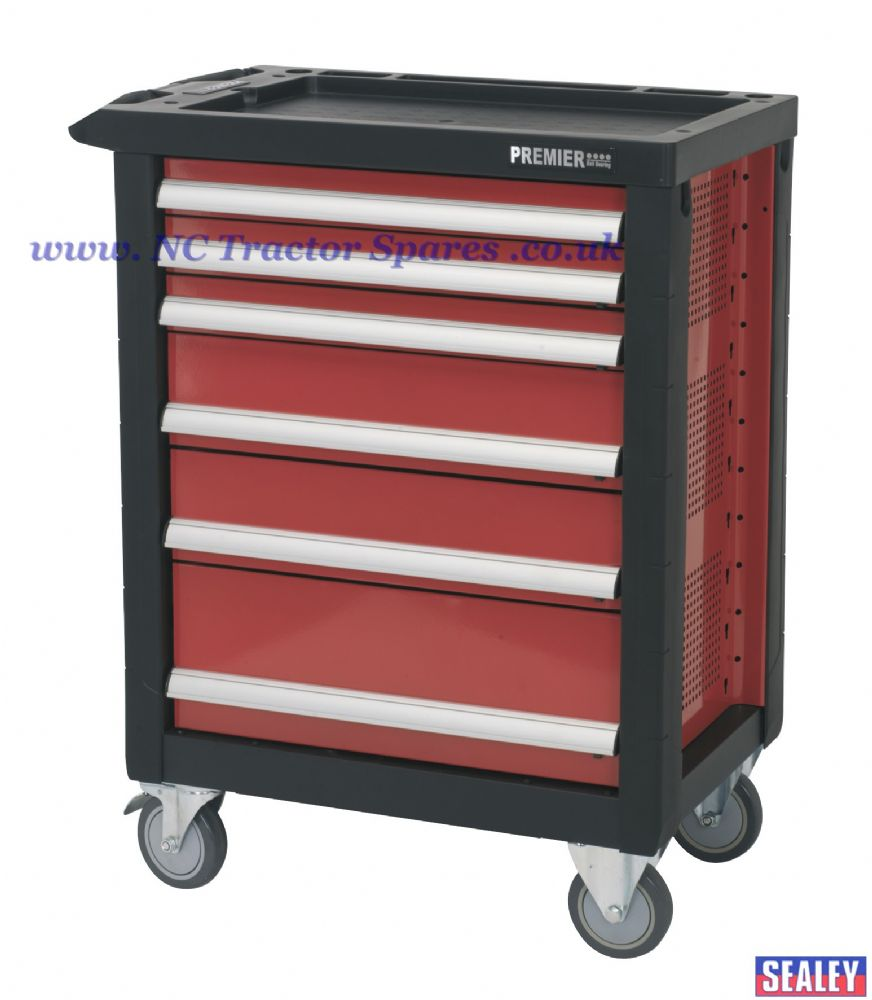 Rollcab 6 Drawer with Ball Bearing Runners